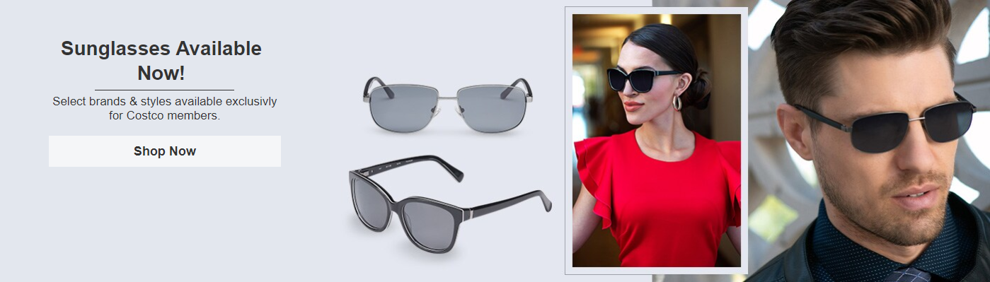 Costco banner sunglasses 20200312